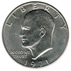 Estados Unidos 1971 1 Dólar Eisenhower (Letra D) EBC