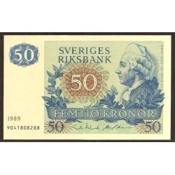 Suecia 50 Coronas PK 53d (1.989) S/C