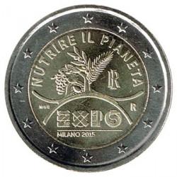 Italia 2014 2 Euros Expo de Milán S/C