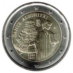 Italia 2015 2 Euros Dante Alighieri S/C