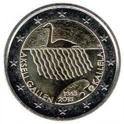 Finlandia 2015 2 Euros.150 Aniv. nacimiento Akseli Gallen Kallela S/C