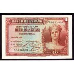 10 Pesetas 1935 República EBC-