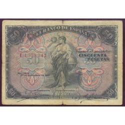 50Ptas 1906 República (1.906) MBC+