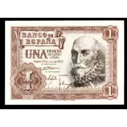 1 Peseta 1953 Marqués Santa Cruz S/C