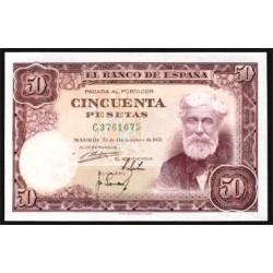 50 Ptas 1951 Santiago Rusinol EBC+ Nº C3761675