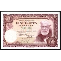 50 Ptas 1951 Santiago Rusiñol EBC+ Nº C3761676