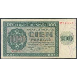 100 Pesetas 1936 Burgos Catedral EBC-