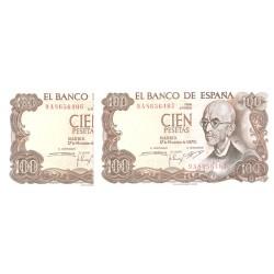 100Ptas 1970 Manuel de Falla EBC-