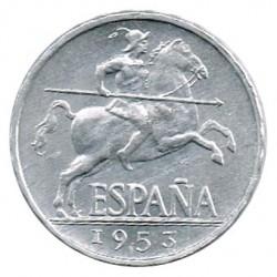 5 Cts 1953 EBC+