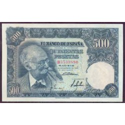 500 Pesetas 1951 Benlliure EBC+