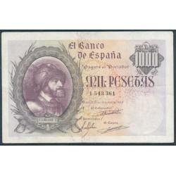 1000 Pesetas 1940 Carlos I. MBC+