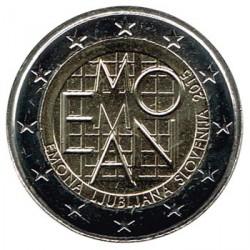 Eslovenia 2015 2 Euros. 2000 años del asentamiento romano de Emona S/C