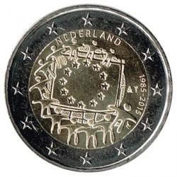 Holanda 2015 2 Euros. 30º Aniv. de La Bandera Europea S/C