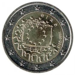 Irlanda 2015 2 Euros. 30º Aniv. de La Bandera Europea S/C