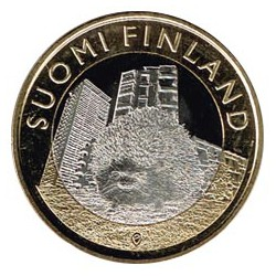 Finlandia 2015 5 Euros Erizo S/C