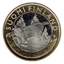 Finlandia 2015 5 Euros Lince S/C