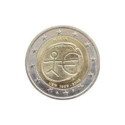 Malta 2009 2 Euros 10º Aniv. del Euro S/C