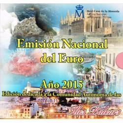 España 2015 Cartera Oficial Comunidades Islas Baleares S/C