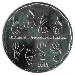 Portugal 2015 2´5 Euros 40 años del Provedor de Justiça S/C