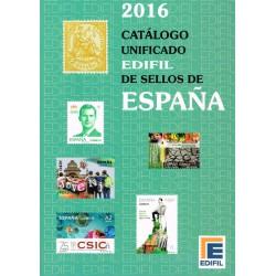 Edifil Sellos de España 1850-2015. Edición 2016