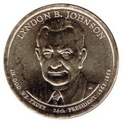 Estados Unidos 1 dólar Presidentes 2015 D. Lyndon B. Johnson (36) S/C
