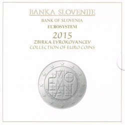Eslovenia 2015 Cartera Oficial S/C