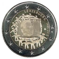 Luxemburgo 2015 2 Euros 30º Aniv. de La Bandera Europea S/C