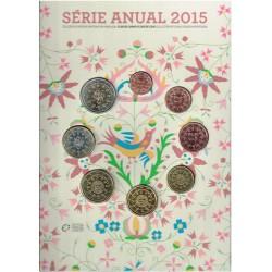 Portugal 2015 Cartera Oficial Flor de Cuño S/C