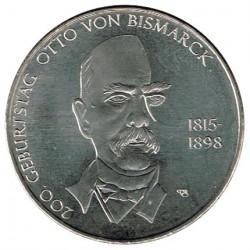 Alemania 2015 10 Euros Ceca A. Otto von Bismarck S/C