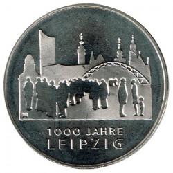 Alemania 2015 10 Euros Ceca F. 1000 Años de Leipzig S/C
