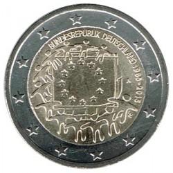 Alemania 2015 2 Euros cualquier Ceca. 30º Aniv. de La Bandera Europea S/C