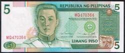Filipinas 5 Piso PK 180 (1.995) S/C