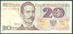Polonia 20 Zlotych PK 149 (1.982) S/C-