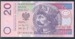 Polonia 20 Zlotych PK 174 (25-3-1.994) S/C