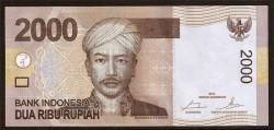 Indonesia 2.000 Rupias PK 148e (2.014) S/C
