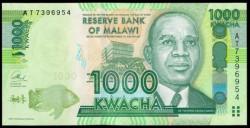 Malawi 1.000 Kwacha PK 62b (1-1-2.013) S/C