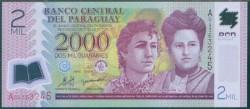 Paraguay 2.000 Guaraníes PK 228a (2.008) S/C