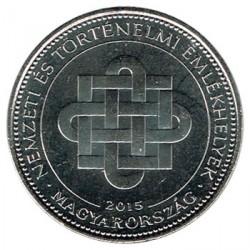 Hungría 2015 50 Forint. Monumentos Nacionales S/C