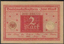 Alemania 2 Marcos PK 59 (1-3-1.920) S/C
