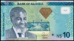 Namibia 10 Dólares Pk 11b (2.013) S/C