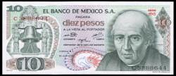 Méjico 10 Pesos PK 63g (16-10-1.974) S/C