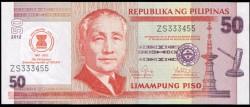Filipinas 50 Piso PK Nuevo (2.012) S/C