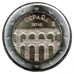 España 2016 2 Euros Acueducto de Segovia S/C