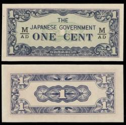 Malaya 1 Cent PK M 1b (1.942) S/C