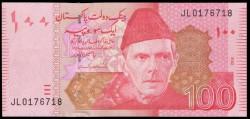 Pakistán 100 Rupias Pk Nuevo (2.014) S/C
