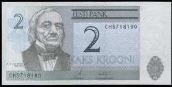 Estonia 2 Krooni Pk 85b (2.007) S/C