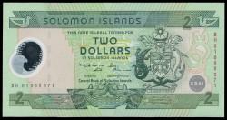 Islas Salomón 2 Dólares Pk 23 (2.001) S/C