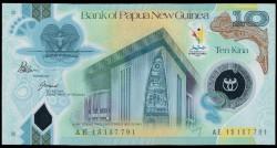 Papúa Nueva Guinea 10 Kina Pk Nuevo (2.015) S/C