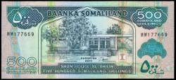 Somalilandia 500 Shillings PK 19 (2.011) S/C