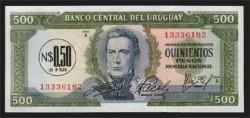 Uruguay 1/2 Nuevos Pesos PK 54 (1.975) S/C
